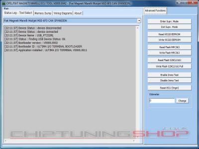 Marelli Plugin for I/O Terminal Tool