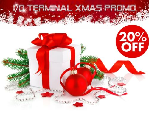 I/O Terminal XMAS Promotion!
