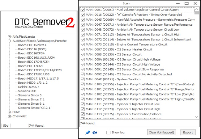 MTX DTC Remover Software
