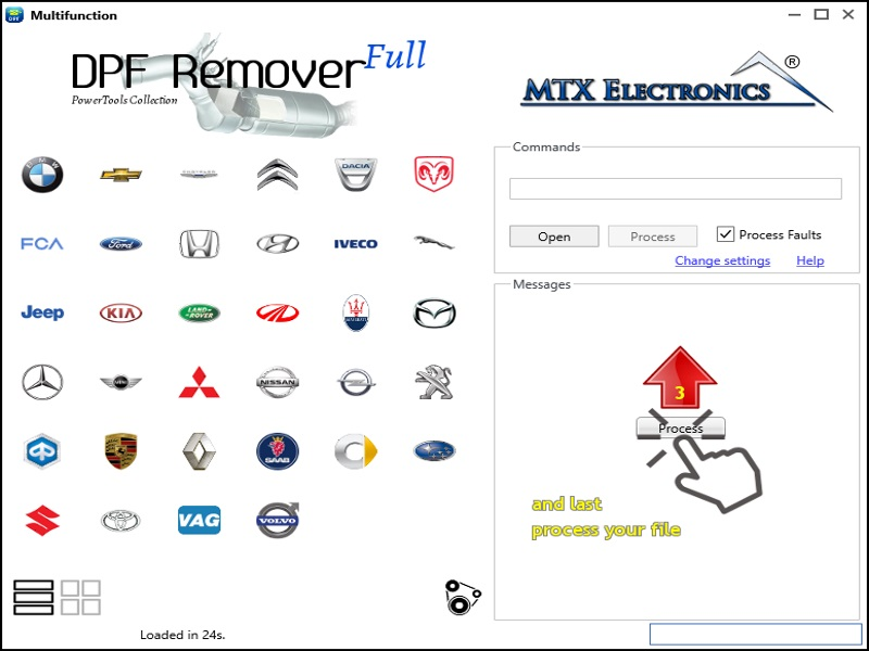 MTX DPF/DTC Remover + Multi Function Software